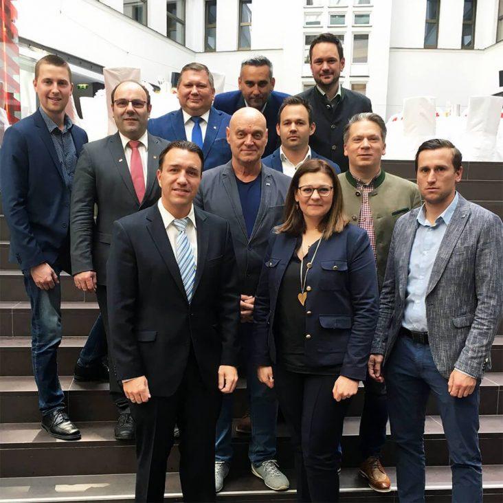 Die neue AK-Fraktion der FA-Oö